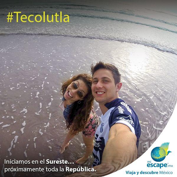 Si tu cuerpo pide playa, Tecolutla es lo que merece. Aléjate de la ciudad y descansa en la orilla de mar. #Tecolutla #Veracruz #México #Viajes #Turismo