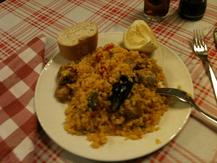 Paella in Madrid!