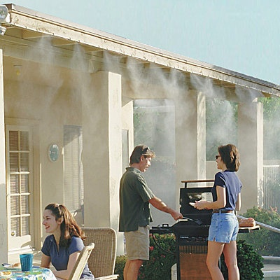 Misty Mate Patio Mister. A misting system is a must have for summer in AZ! #PinMyDreamBackyard