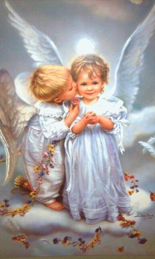 Осеннюю, картинки с ангелами на тему спокойной ночи