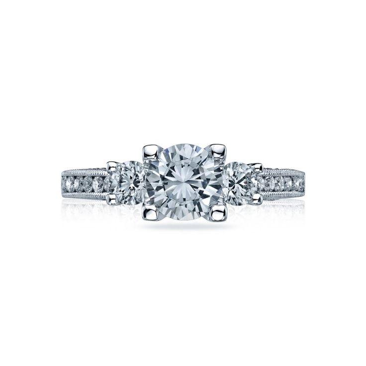 Gemstone Engagement Rings Chicago: Marshall Pierce & Company-Tacori 3 Stone