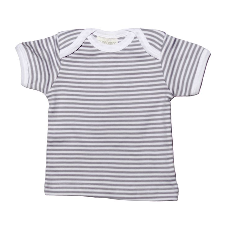Grey Stripe Short Sleeve T-shirt