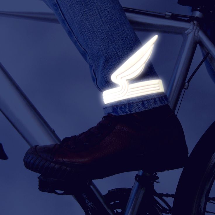 Icarus wings, bike safety reflectors