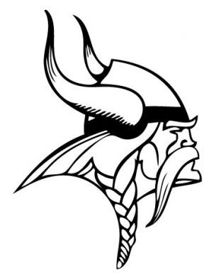 Minnesota Vikings Printables | Minnesota Vikings Logo Coloring Page