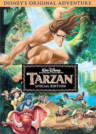 Tarzan (Special Edition), GOOD cond. DVD, Rosie O'Donnell, Taylor Dempsey, +