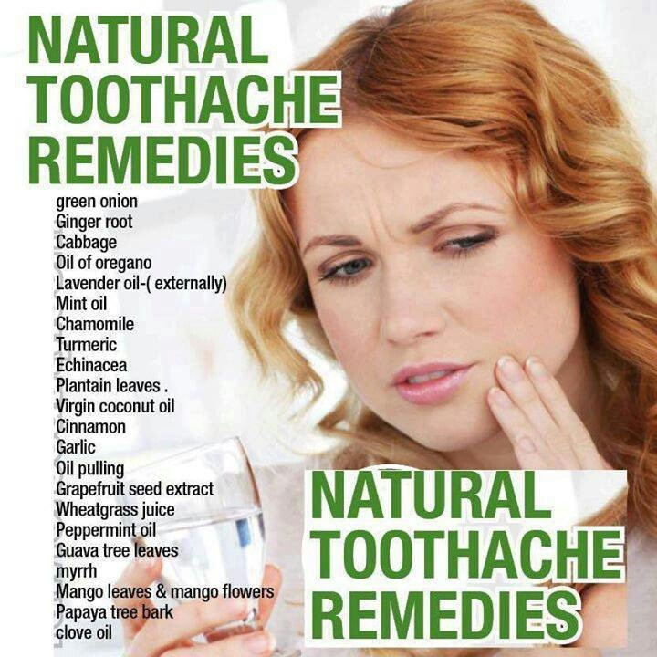 .toothache remedies | Natural Remedies and Health | Pinterest