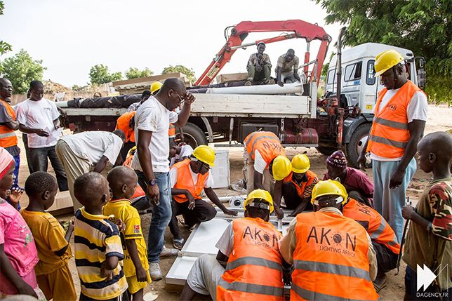 Akon's Solar Academy hopes to train a new generation of engineers