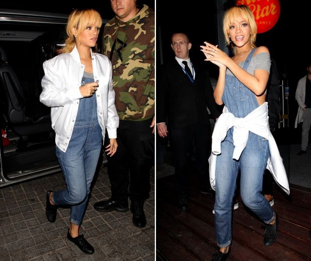 Rihanna Hits Manchester For A Spot Of Bowling!   Look