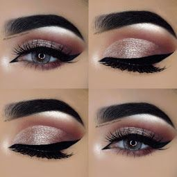 These brows with the perfect highlight are exactly what we want!