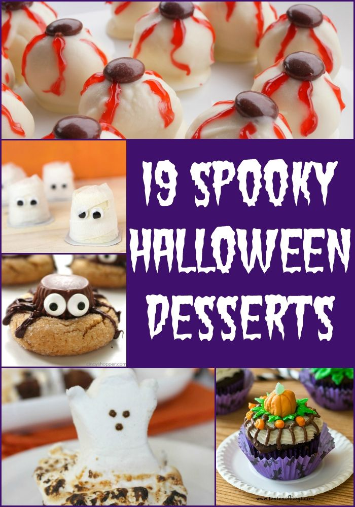get ready for your halloween parties with these 19 spooky halloween desserts love pasta - Halloween Desserts For Parties