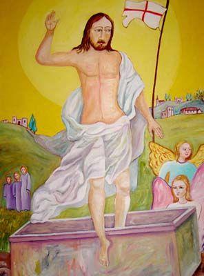 Resurrezione - olio su tela (70x100 cm)