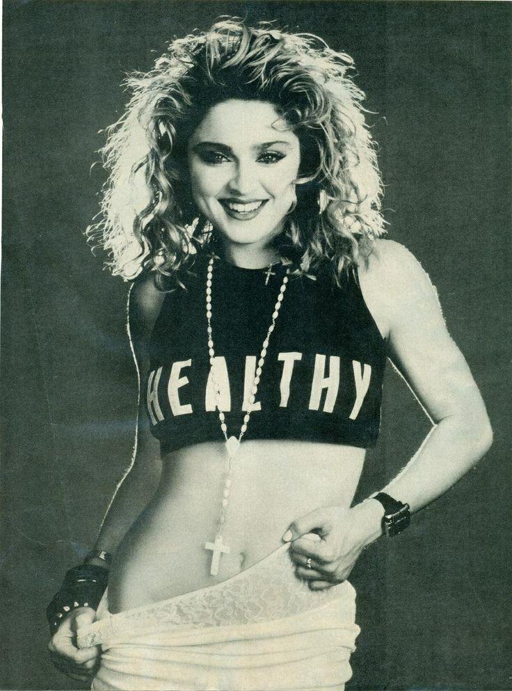 E tem como falar de inspiração e não citar Madonna? - Inspiração que lança moda desde a década de 1980