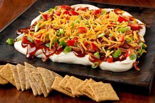 Barbecue-Bacon Party Spread Recipe - Kraft Recipes