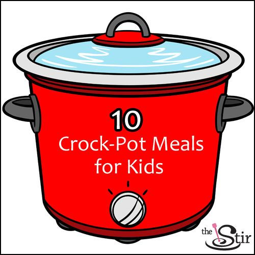 The next best thing is a slow-cooker meal ready to eat by the time kids want to eat -- is a crockpot meal kids can literally serve themselves. Magic! http://thestir.cafemom.com/food_party/177306