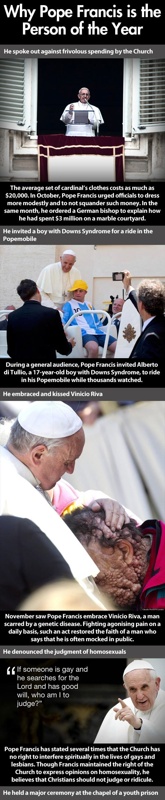 Finally, a Pope that acts like a Pope…