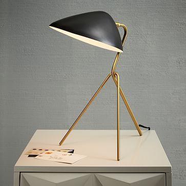 Curvilinear Mid-Century Table Lamp #westelm