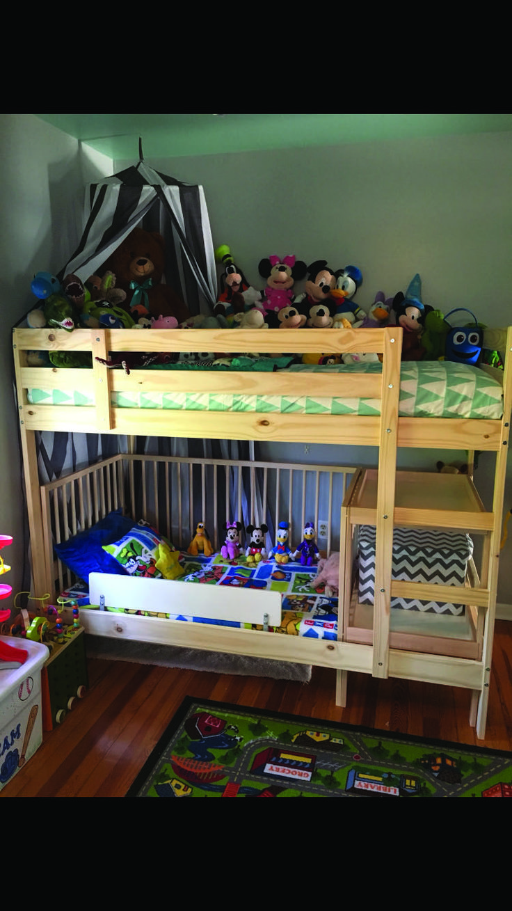 Fantastic ikea bunk bed hack crib one and only dovahome