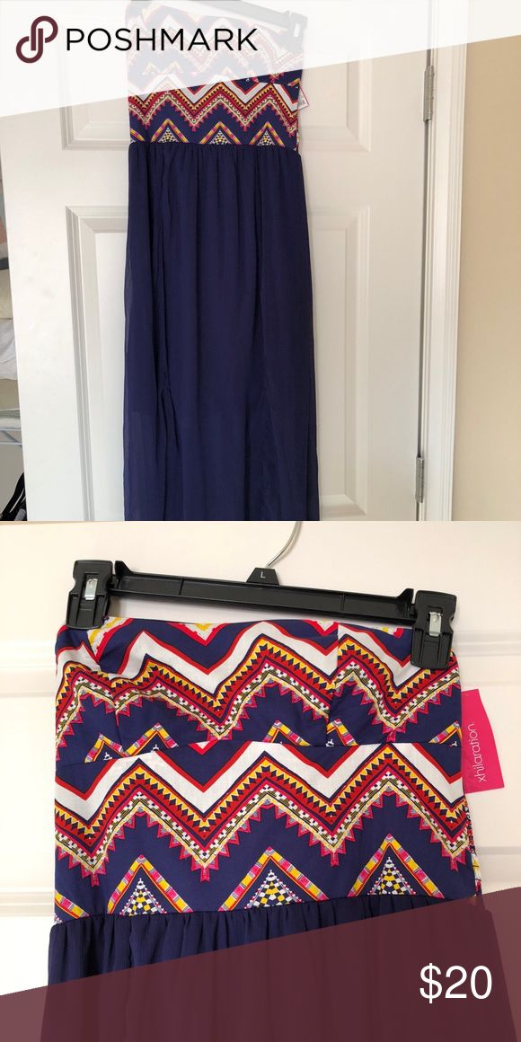 Target maxi dress, unworn with tags From target, size small, strapless Xhilaration Dresses Maxi