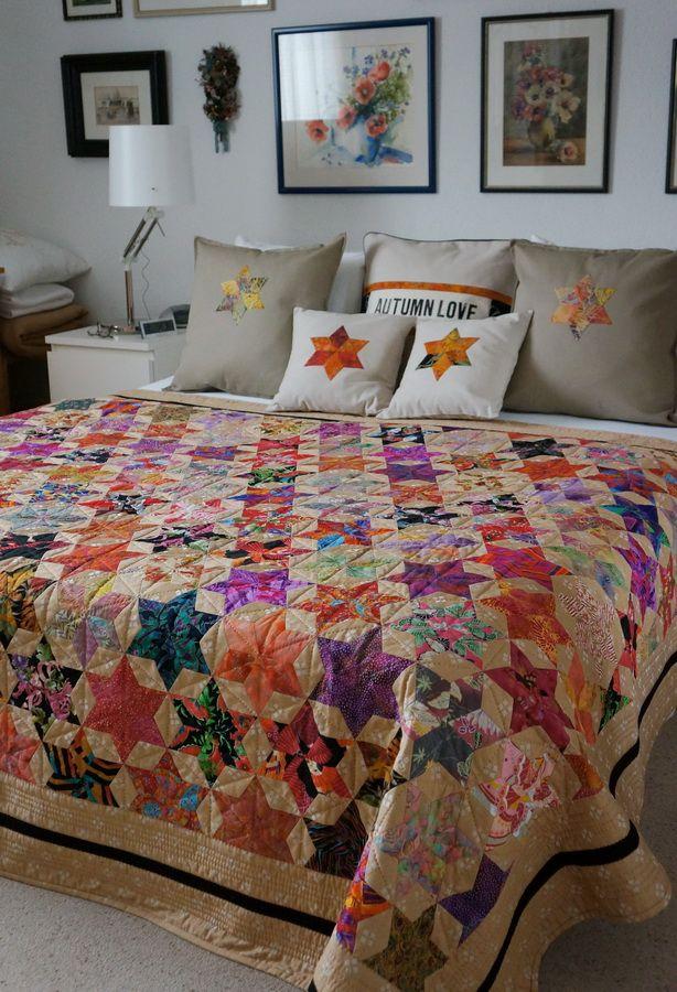 les 25 meilleures id es de la cat gorie couette hexagone sur pinterest motif de courtepointe d. Black Bedroom Furniture Sets. Home Design Ideas