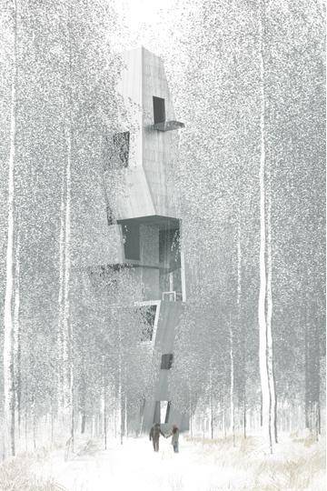 Studio Octopi - wallpaper* tree house, cotswolds
