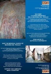 Salviamo la chiesa della Madonna del Truglio - Articolo Nove Arte in Cammino