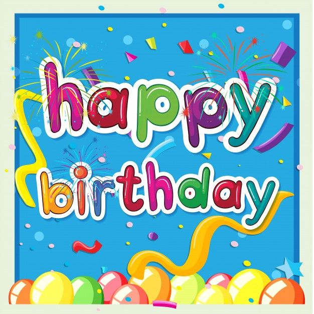 1119 best Happy Birthday images on Pinterest Background designs - happy birthday cards templates