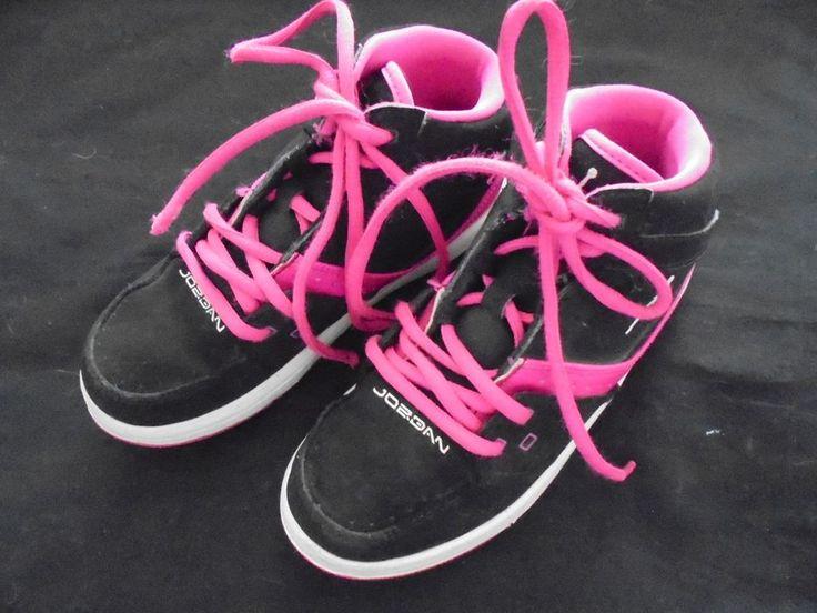 Jordan 23 by Nike Black W/Pink Basketball Shoes Unisex Size 1Y #JordanbyNike…