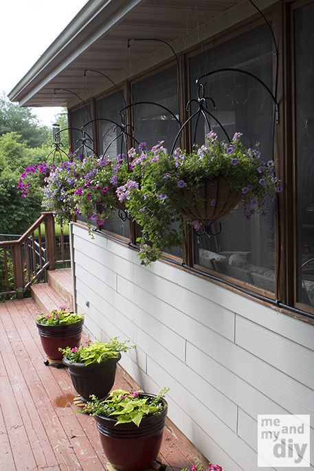 Keep your hanging baskets and container plants beautiful all summer long, even on vacation. Irrigation system