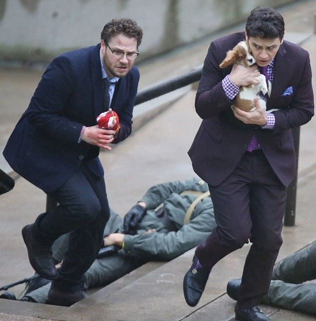 James Franco+ Seth Rogen Star in The Interview image The Interview James Franco Seth Rogen e1402678075535