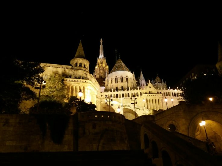 Fishermans Bastion, Buda Castle, Budapest, Hungary