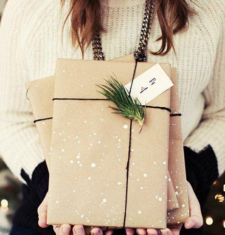 Идеи стильной упаковки новогодних подарков