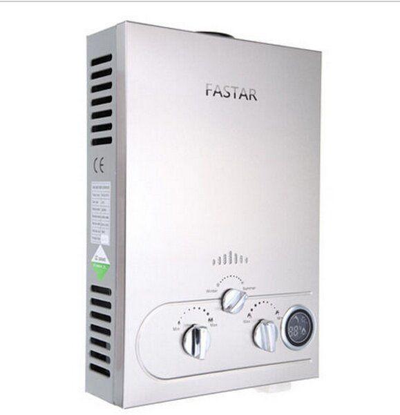2017 Limited 12l Elektrische Douche Insteekbatterij NATUURLIJKE Propaan Gas Boiler Tankless Instant Boiler Roestvrij Lcd Ce