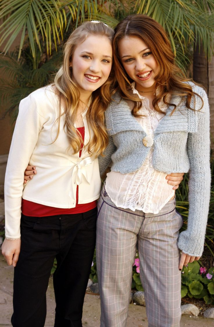 Emily and Miley #tbt