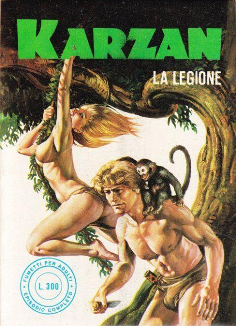 Karzan (n. 28, novembre 1977) Emanuele Taglietti