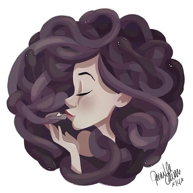 #medusa for #sketchdailies @sketch_dailies #drawing #sketch #girlsinanimation