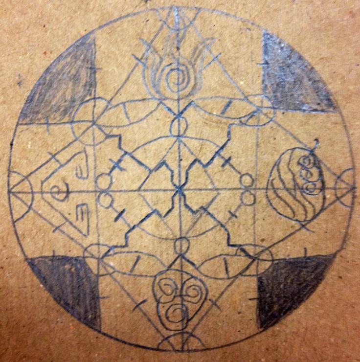 Rough sketch of Elemental Spell Seal