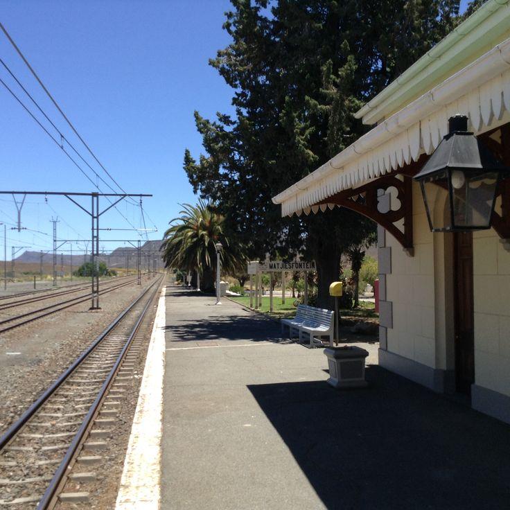 Matjies Fontein Station