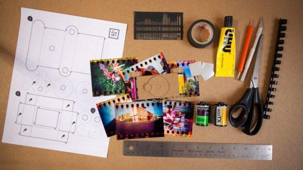 camara estenopeica, pinhole camera, Sproket Pinhole de 35mm