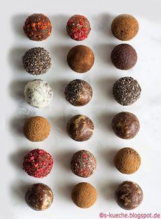Raw Bites - Dattel-Kakao Trüffel                                                                                                                                                      Mehr