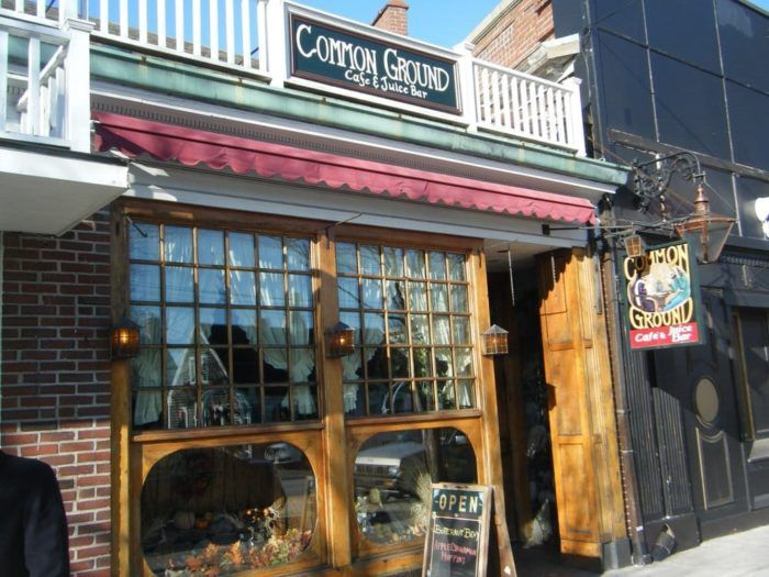 Common Ground Cafe is tucked right into the charming stretch of shops and cafes that makes up downtown Hyannis.