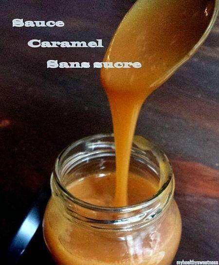 Sauce caramel sans sucre vegan paleo