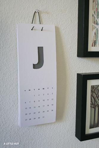 A Little Hut - Patricia Zapata: recycle project no. 10 - 2008 calendar