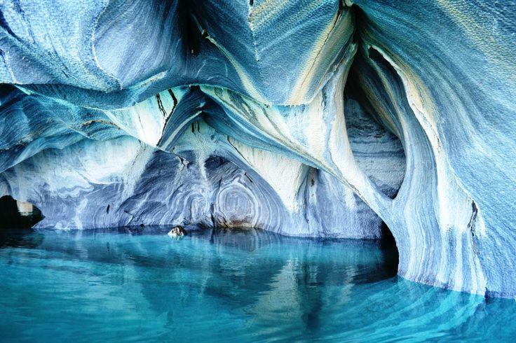 Capillas de Marmol in Aisen Region, Chile