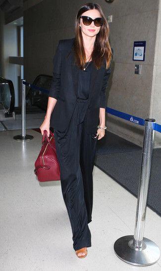 Les 25 meilleures id es de la cat gorie tenue de pantalon - Quelles chaussures avec une combinaison noire ...