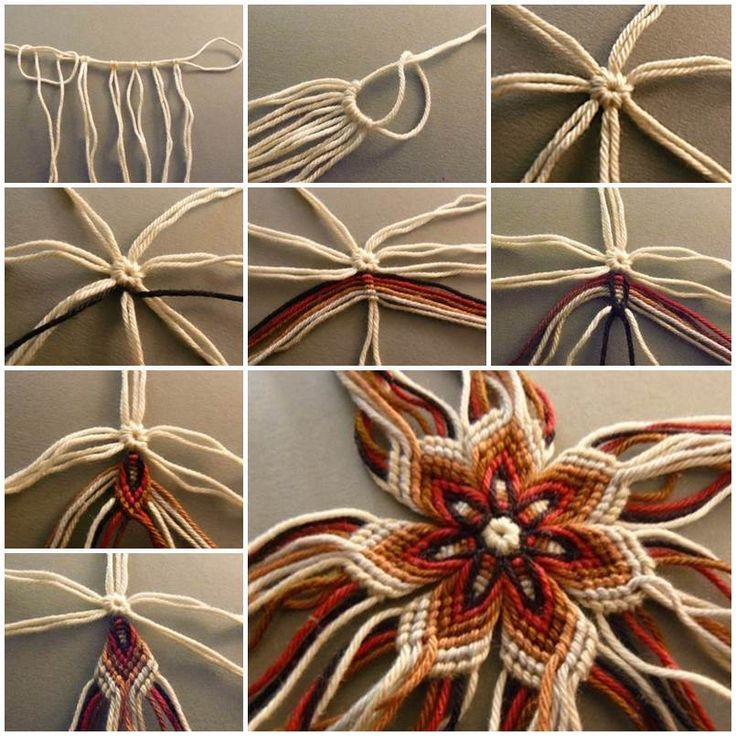 Here is a super easy DIY project to make a weaving flower of yarn. Isn't that beautiful? It's nice that it doesn't require any knitting. You can use different colors of yarn to create your own design. It makes a nice interior decoration. Or you can use it as ornaments …