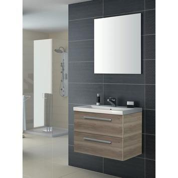Hera badmeubelset melamine hout 60 cm | Badkamermeubelen | Badkamer | Sanitair | GAMMA
