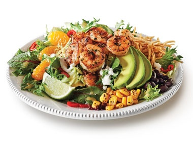 Shrimp salads, Chipotle and Shrimp on Pinterest