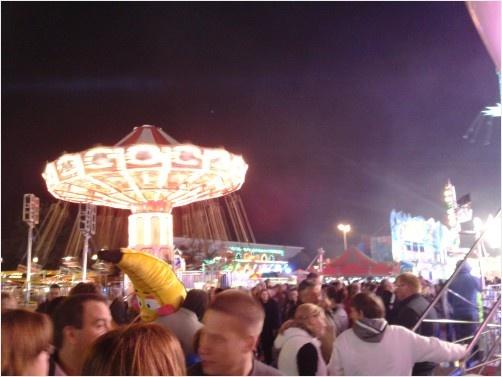 The Wave Swinger at Hull Fair.