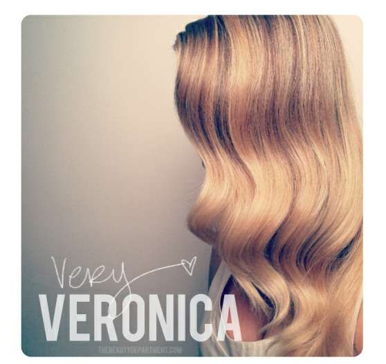 beauty department simple vintage waves - The Beauty Department has done it again and created another fantastically easy, gorgeous hairstyle that just about anyone can accomplish by followi...