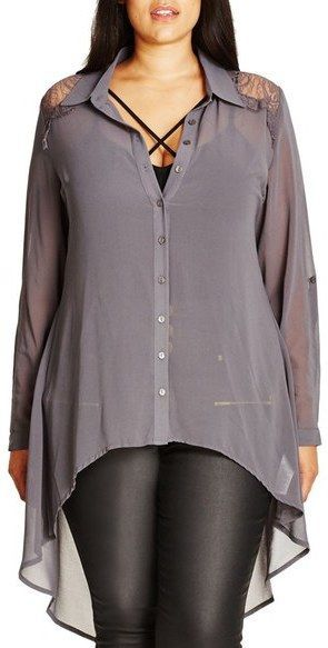 Plus Size High/Low Shirt                                                                                                                                                                                 More